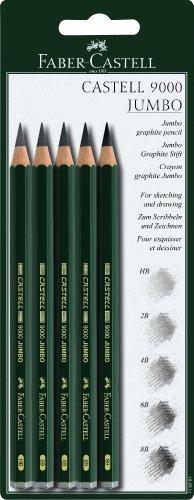 Faber-Castell 119397 – Lápices, 5 unidades