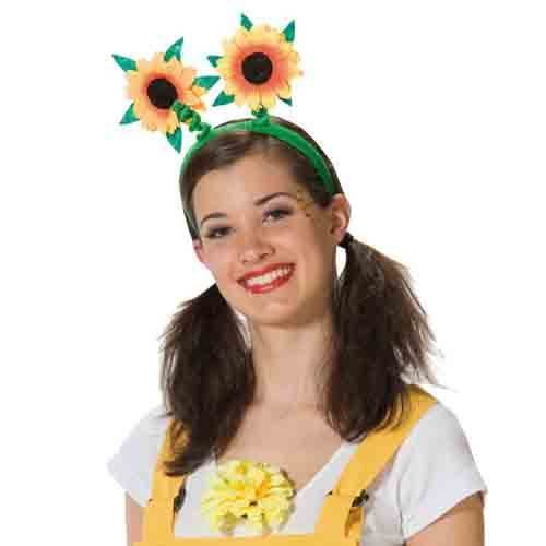 onnenblume Blume Sonne grün Blumenreif Blumenhaarreif Sonnenblumenhaarreif Sommer ()