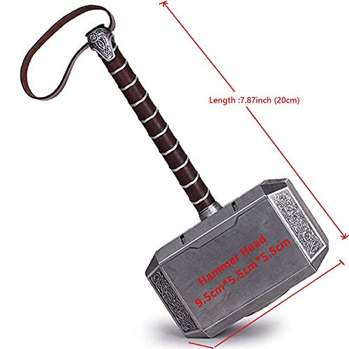 Lonme 20cm Thor's Hammer Kids Toys Cosplay Thunder