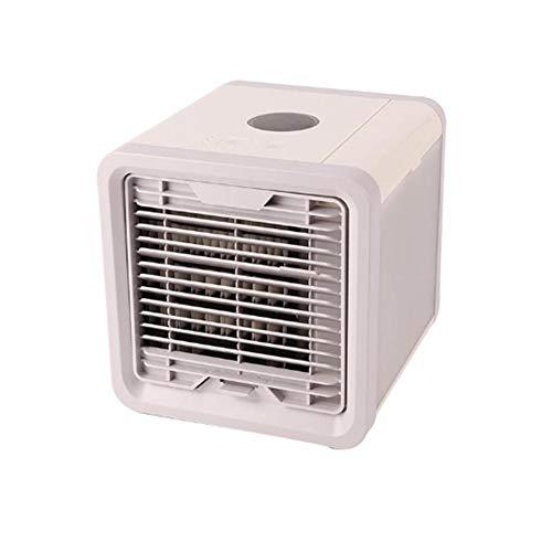 Auto Tragbare Klimaanlage Luftkühler USB Mini Persönliche Stille Klimaanlage Kühler Luftbefeuchter Tragbarer Tischventilator für Office Home Desktop Computer Student Schlafsaal Tischventilator