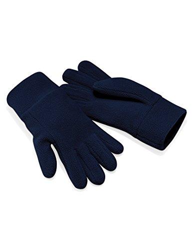 Beechfield Unisexe B296. FNA. 2ml Suprafleece Alpine Gants, Français Bleu marine, S/M/L/XL