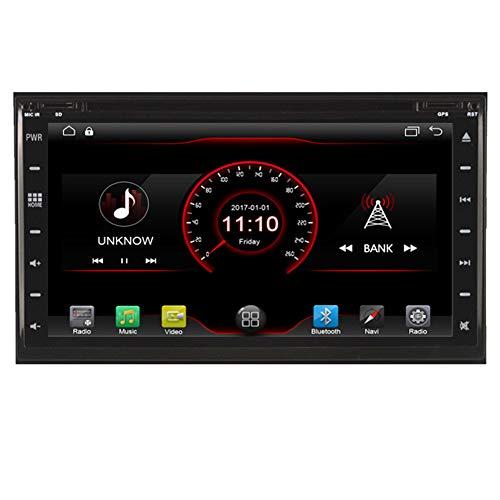 Autosion Dash Android 6.0Auto-DVD-Player, SAT NAV-Headunit-Navi Stereo für Nissan Tiida Qashqai 2007-20122004-2011Paladin (2005-2011Unterstützt Bluetooth USB SD-DVR 1080P WLAN Sat-dash