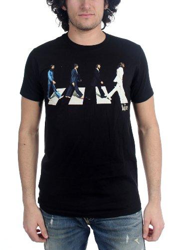 Die Beatles - Männer Goldene Slumbers T-Shirt Black