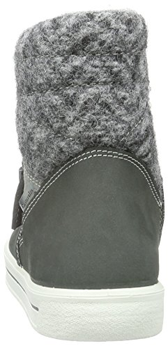 Ricosta - Noelle, Scarpe da ginnastica Bambina Grigio (Grau (grigio/patina 482))