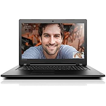 Lenovo Ideapad 300-17ISK 43,9 cm (17,3 Zoll) Laptop (Intel Dual Core Prozessor 3855u, 1TB HDD, 8 GB RAM, Win 10 Home) schwarz