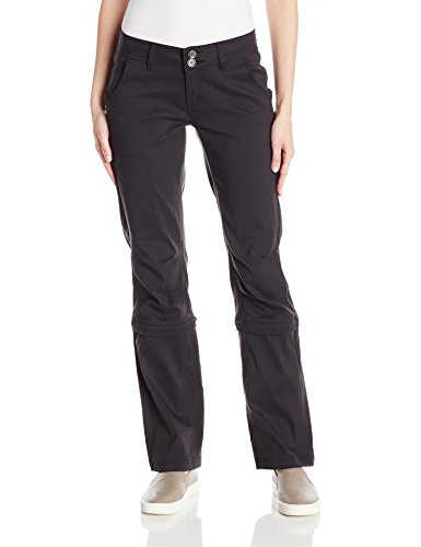 prAna Women's Regular Halle Convertible Pants, 16, Black - Prana Convertible Pants