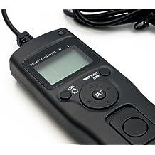 QUMOX Timer intervallo di scatto Telecomandi per Canon 1D 1Ds 5D Mark 2 Mark 3 II III 6D