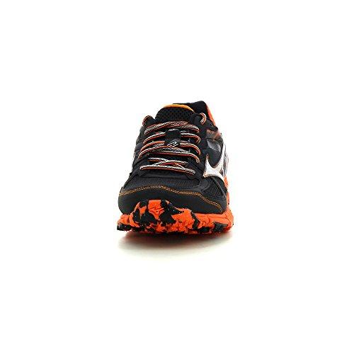 Mizuno  Wave Kazan, Chaussures de course pour homme - Multicolore Black /Silver