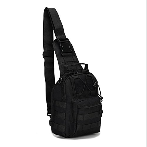 Shuweiuk Tactical Sling Backpack Military Shoulder Chest EDC Bag for Outdoor Sport Camp Hiking