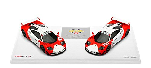 TrueScale Miniatures TSM144332 1:43 Scale 1996 McLaren F1 GTR Number 2/ Number 6 1996