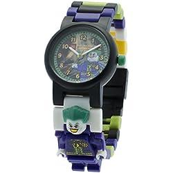 Lego DC Universe Super Heroes The Joker Minifigure Link Children's Quartz Watch with Multicolour Dial Analogue Display and Multicolour Plastic Bracelet 9001239
