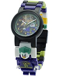 LEGO DC Super Heroes The Joker- 9001239 - Montre Enfant - Quartz Analogique - Bracelet Plastique Multicolore