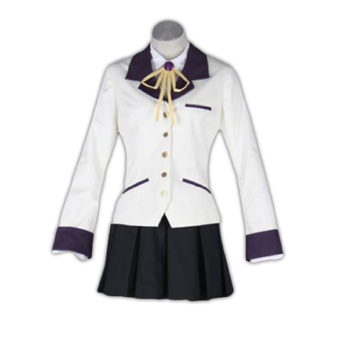 Dream2Reality Angel Beats Cosplay Kostuem -Tachibana Kanade 1st Ver (Angel Beats Cosplay Kostüme)