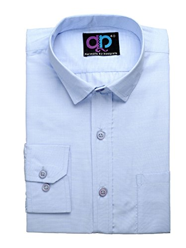 Koolpals Men's Formal Shirt (Blue_40)