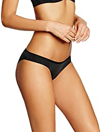 Marca Amazon - IRIS & LILLY Braguita Estilo Bikini Body Smooth Mujer, Pack de 5