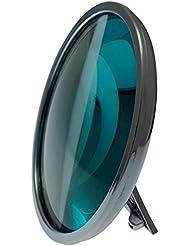 BRILLETTA Dioptrienspiegel statt Schminkbrille Brille im Spiegel Schminken ohne Brille +1,25 bis +2,00 dpt + 3fach-Vergrößerung
