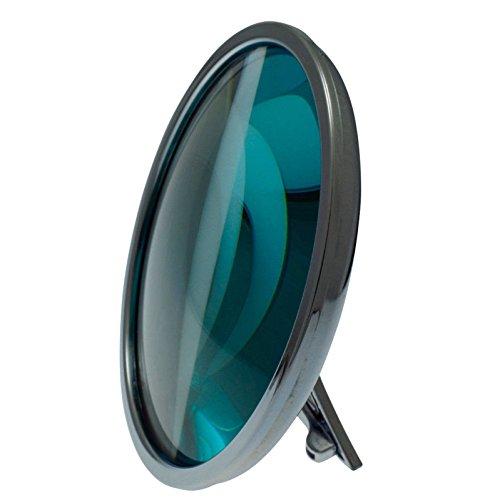 BRILLETTA Dioptrienspiegel statt Schminkbrille Brille Schminkspiegel Kosmetikspiegel Schminken ohne Brille +1,25 bis +2,00 dpt + 3fach-Vergrößerung