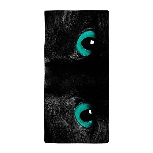 rio-gato-negro-con-ojos-azules-de-verde-cena-absorbente-cena-absorbente-toalla-toalla-de-bano-toalla