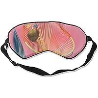 Weiche & glatte Schlafmaske Lustige Schlafmaske Kreative Augenmaske Schlaf Sonnenbrille, Strohhut, Stuhl und Sandalen preisvergleich bei billige-tabletten.eu