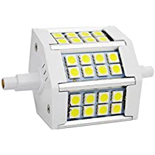 R7S 5W 78mm LED Bombillas 24x SMD5050 Blanco Frío 6000K 400lm, No Regulable - Equivalente J78 50W R7s Bombilla halógena