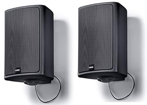 Canton Pro XL.3 Universal In-/Outdoor-Lautsprecher (60/120 Watt, 2 Stück), Schwarz