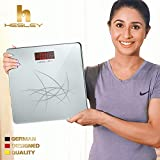 #5: Hesley Weighing Scale/Weighing Machine with Step-On Technology, 180 kgs, SAL-002 Premium Silver series
