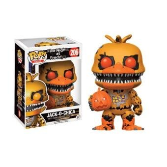 Funko POP Jack-O-Chica GameStop Exclusive #206 Five Nights At Freddy's