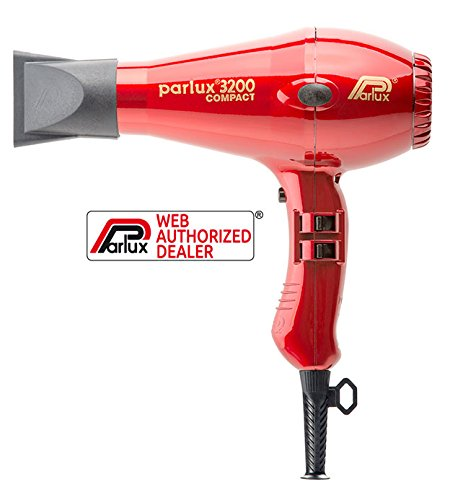 Parlux 3200Compact-Farbe rot -