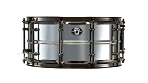 LUDWIG BLACK MAGIC STAINLESS STEEL - 14 X 6.5 - LW6514S Caisse claire Fut métal