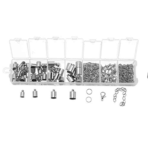3430222feb78 TuToy Jewelry Findings Starter Kit Jewelry Beading Making And Repair Tools  Kit - silber