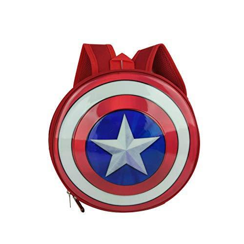 Captain America Schild Taschen - Casual Rucksack Festliche Rot 29 * 7