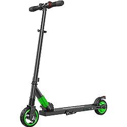 M MEGAWHEELS Elektro Scooter Faltbarer E-Roller 250W 14MPH with 5-8 Miles Perfekt für Jugendliche und Erwachsene (Grün)