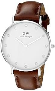 Daniel Wellington - 0960DW - Montre Femme - Quartz - Analogique - Bracelet cuir Marron