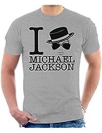 Coto7 I Heart Michael Jackson Men s T-Shirt 6edefb7295d0