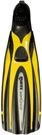 mares-avanti-excel-aletas-unisex-color-amarillo-talla-42