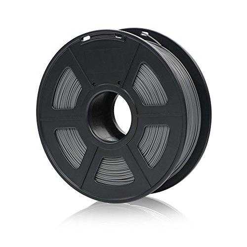 Anycubic Imprimante 3d Filament PLA Tolérance, le diamètre de la +/-0,02mm, bobine de 1kg 1.75mm pour imprimante 3d et 3d Lot de 6crayons couleur gris