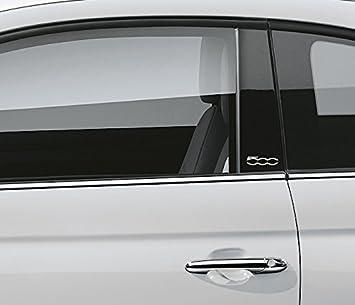 Fiat Door Pillar Vinyl Stickers Decals Car Graphics Bumper - Car window stickers amazon uk