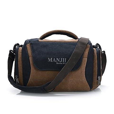 Fanova Quality Canvas Camera Bags Women Shoulder Camera case Vintage Men Cross Body Bags