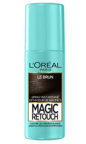 L'Oréal Paris Magic Retouch Spray Retouche Racine Instantané le Brun 75 ml - Lot de 3