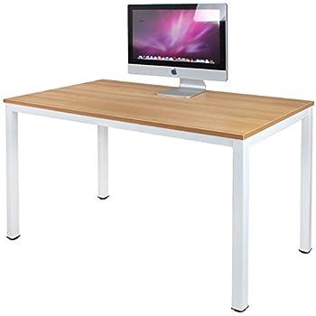 Dlandhome bureau informatique d 39 ordinateur en bois 120 - Bureau d etude informatique ...