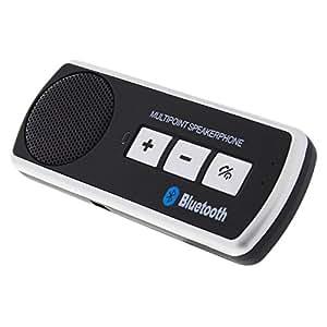 Avizar - Kit Bluetooth Voiture Fixation Pare-Soleil - Noir