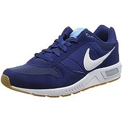 Nike Nightgazer, Chaussures de Running Entrainement Homme, Bleu (Coastal Blue/White-Bluecap), 42.5 EU