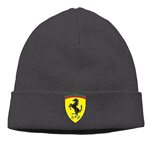 hittings Zen gtaoqi Ferrari logo Skull Cap