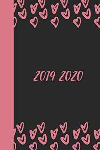 Agenda 2020 journalier grand format noir souple