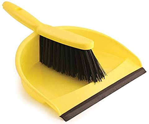 BENTLEY VZ.8011/Y DUSTPAN AND BRUSH SET YELLOW [Pack Size: 2] (Epitome Certified)
