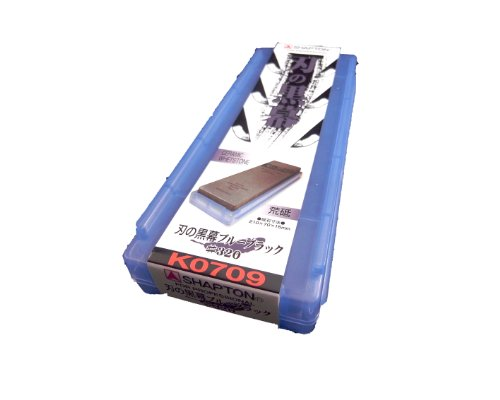 Whetstone Sharpening stone SHAPTON Ceramic KUROMAKU #320 by Shapton 320 Audio