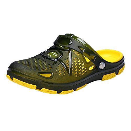 WWricotta Outdoor Casual Walking Beach Flip Flops Casual Men Shoes Summer Beach Slippers -