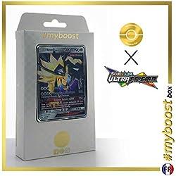 Necrozma Crinière du Couchant-GX 90/156 - #myboost X Soleil & Lune 5 Ultra-Prisme - Coffret de 10 Cartes Pokémon Françaises
