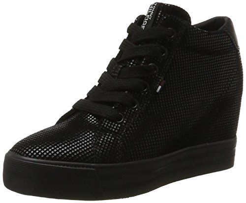 Tommy Jeans N1385ice Wedge 5z2, Baskets Hautes Femme