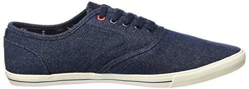 Jack & Jones Jjspider Canvas Sneaker Light Blue Denim, Sneakers Basses Homme Bleu (Blue Denim)